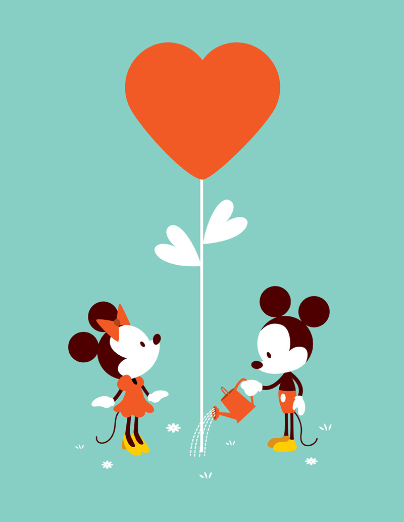 800x1033 Cute Mickey And Minnie Wallpapers
