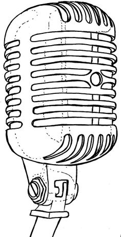 236x462 best mic art images drawings, microphone drawing, microphone