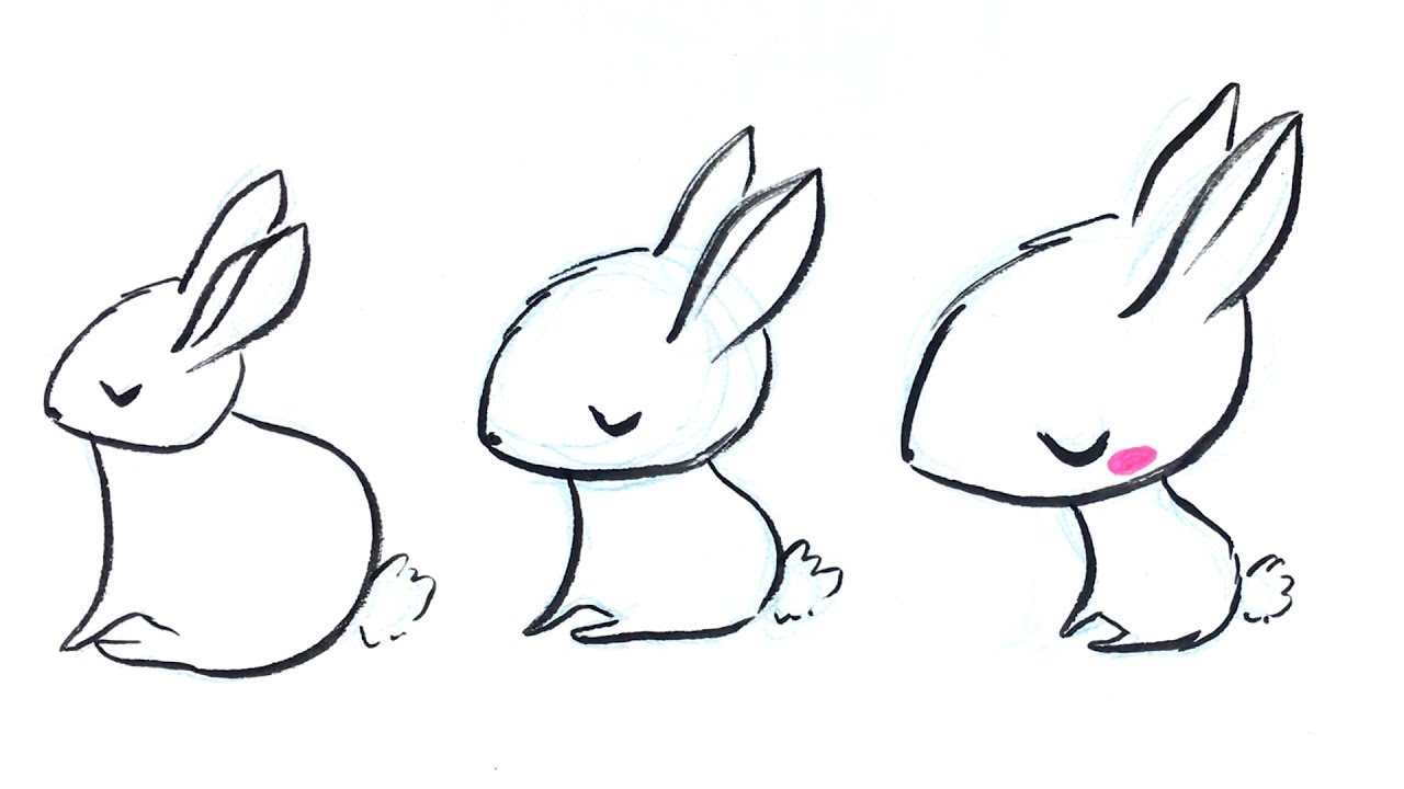 1280x720 The Science Of Cute! How To Draw Kawaii Animals