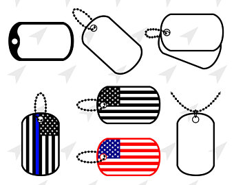 340x270 Military Dog Tag Etsy