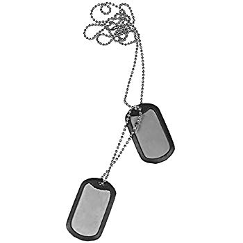350x350 Customized Military Dog Tags
