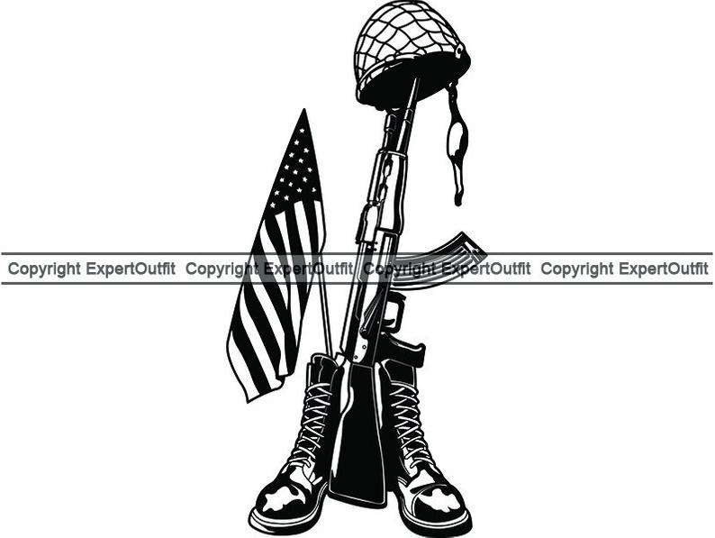 794x597 fallen soldier military vet death war fallen hero army etsy