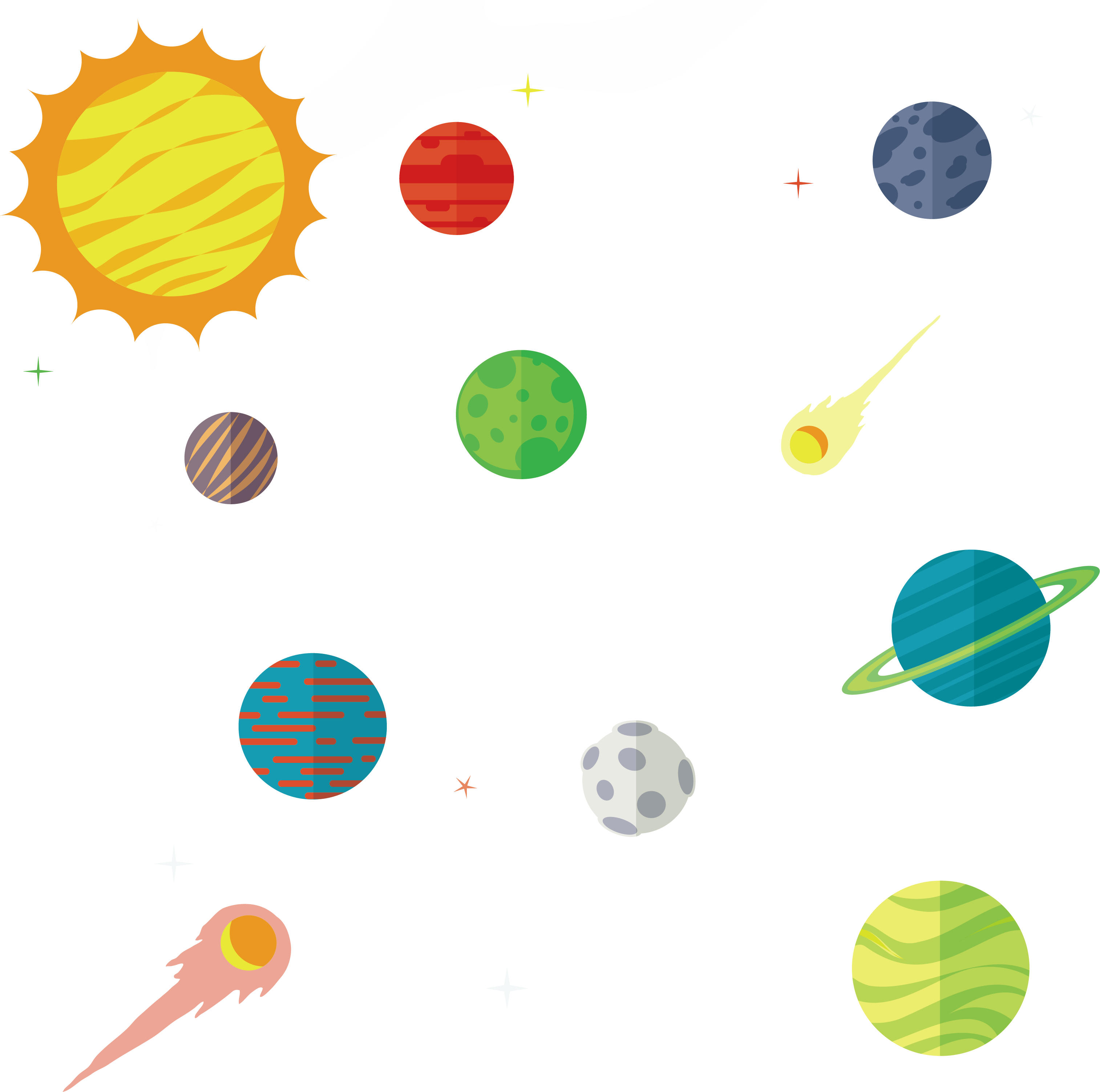 3028x3006 Collection Of Free Planet Vector Milky Way Download On Ui Ex