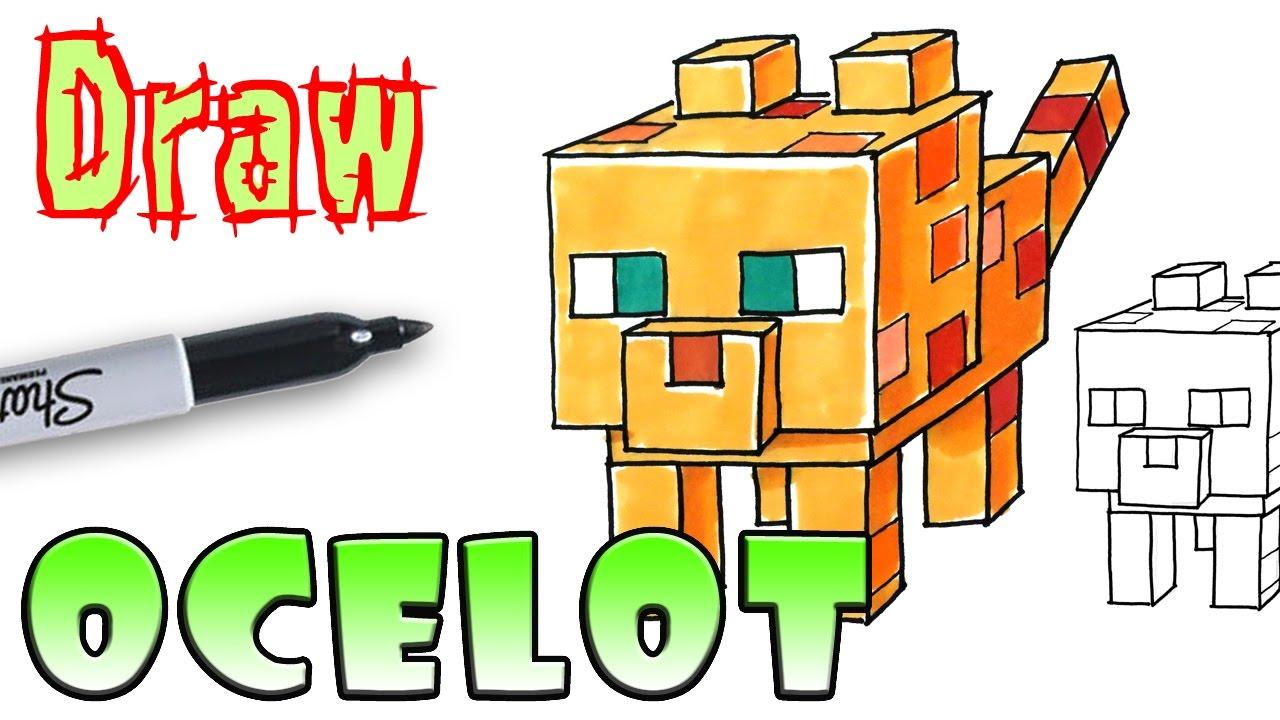 1280x720 how to draw ocelot