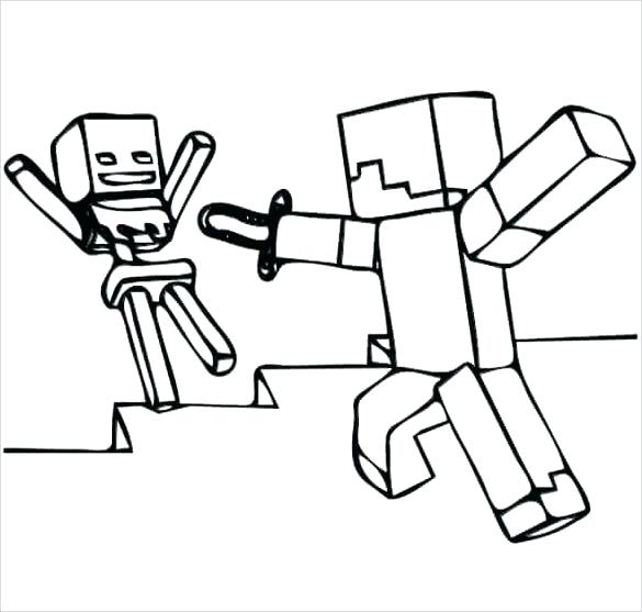 585x557 minecraft ocelot coloring pages related post minecraft ocelot