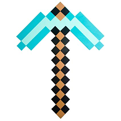 Minecraft Diamond Drawing