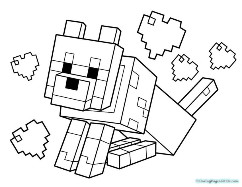 Minecraft Drawing Online | Free download on ClipArtMag