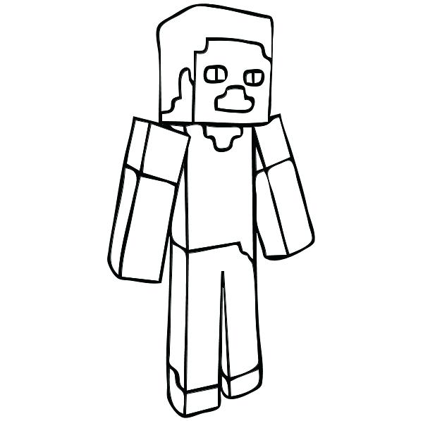 600x598 Coloring Pages Minecraft Coloring Book Games Story Mode