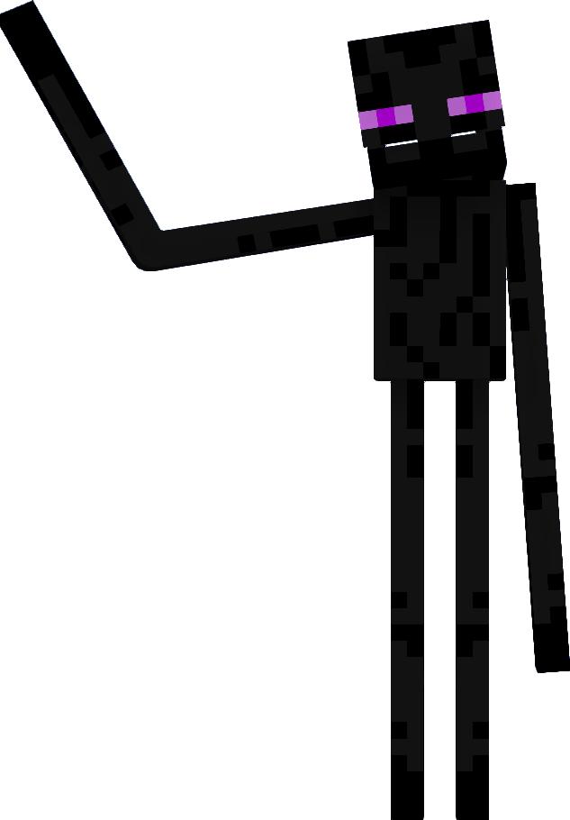 Minecraft Enderman Drawing