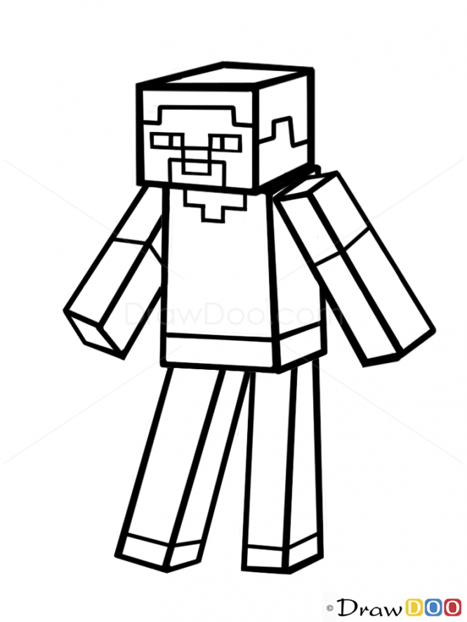 Minecraft Images Drawing