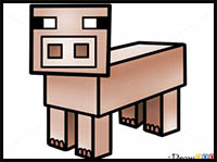 200x149 How To Draw Minecraft Video Game Characters Drawing Tutorials