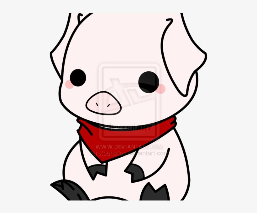820x681 Cute Pig
