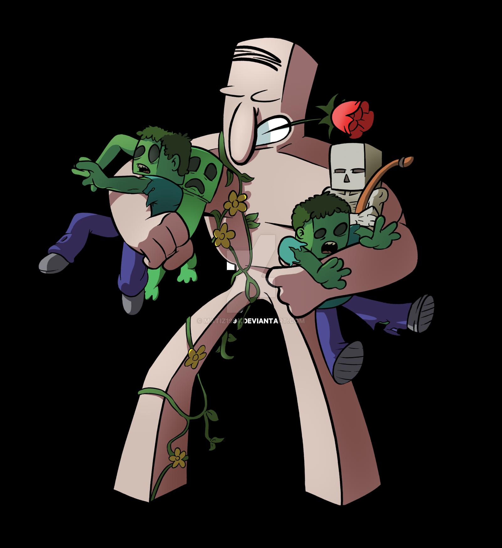 Minecraft Skeleton Drawing