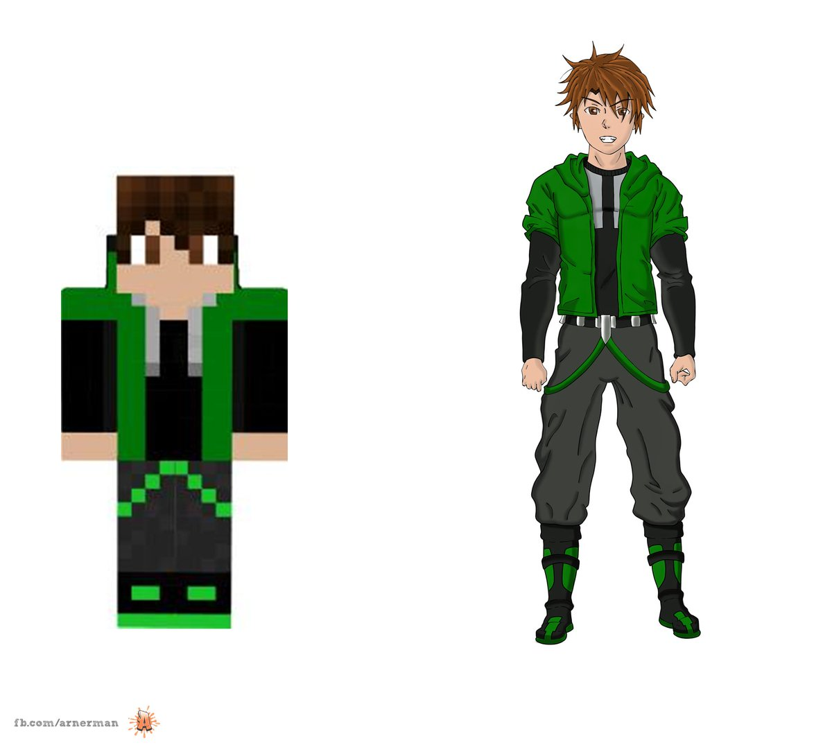 Minecraft Skin Drawing