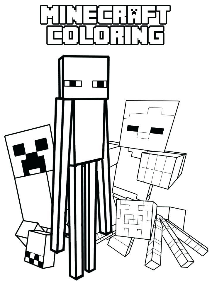 Minecraft Steve Drawing