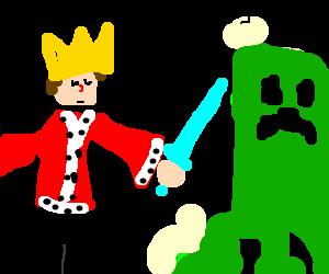 Minecraft Sword Drawing