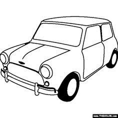 236x236 projects mini drawings, mini cooper
