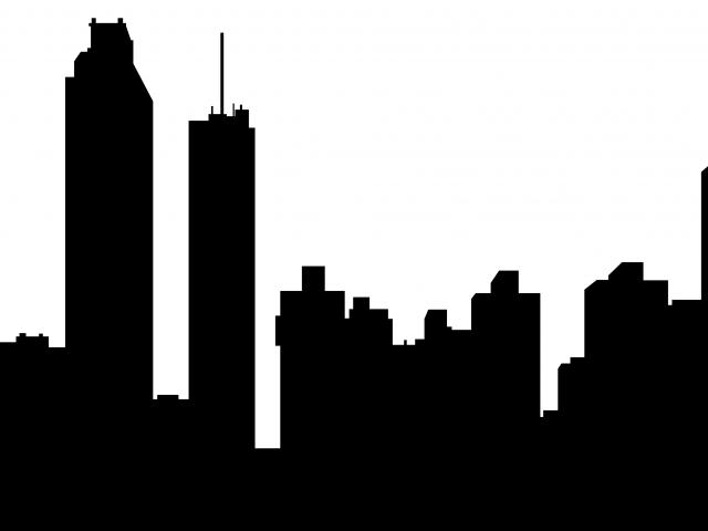 640x480 Drawn Skyline