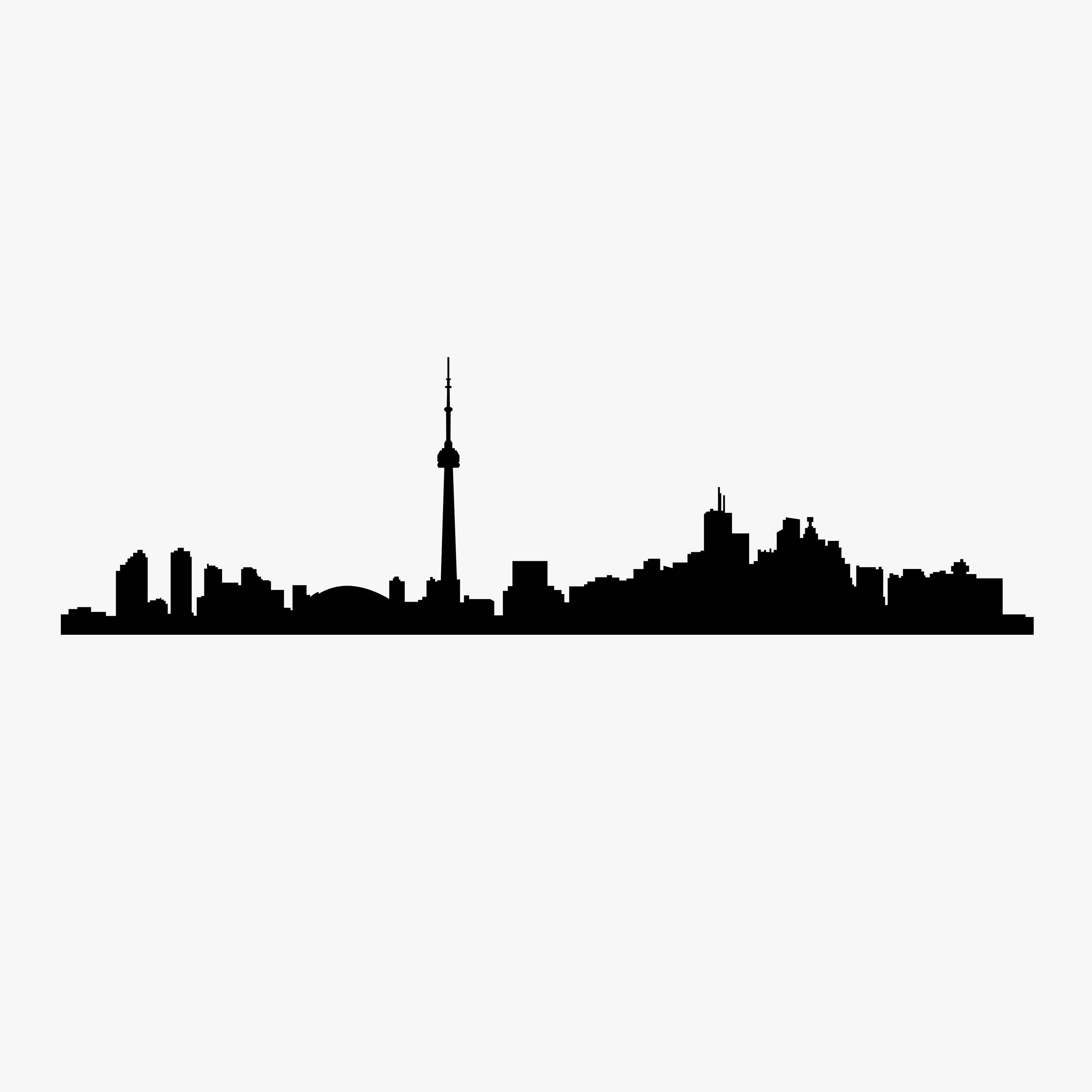 3000x3000 Toronto Skyline Drawing Jerusalem House