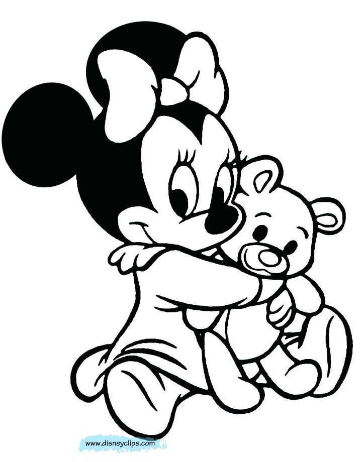 720x920 minnie mouse printable coloring pages baby minnie mouse colouring