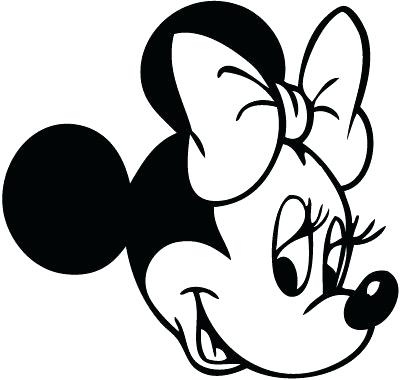 401x380 minnie mouse face drawing mouse face outline library minnie mouse