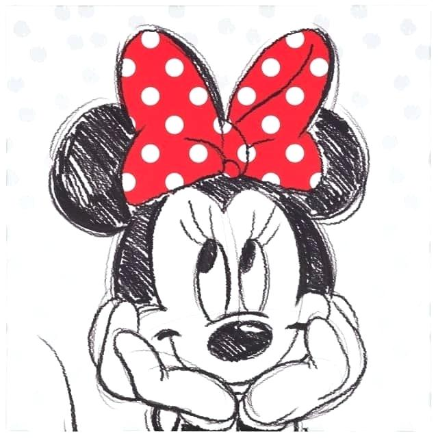 Minnie Mouse Ears Drawing
