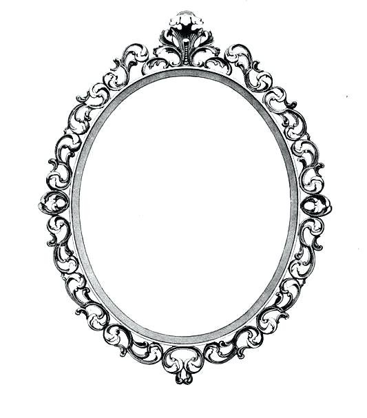 533x607 antique oval picture frames ornate oval frame drawing antique oval