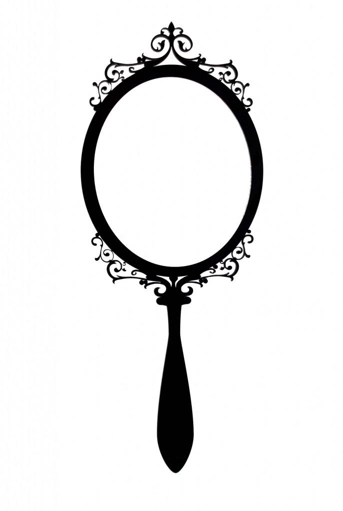 687x1024 Drawing Mirror Free Download