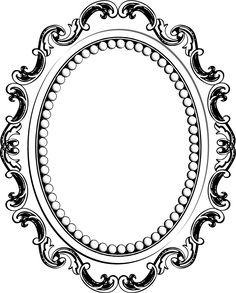 236x293 Mirror Frame Clipart Clip Art Images