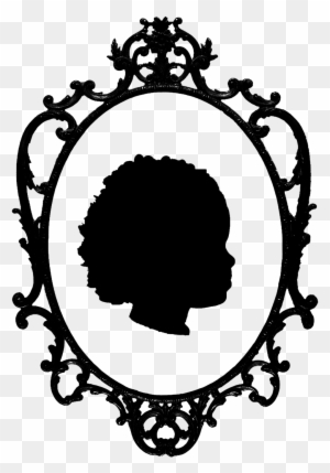 300x429 Vintage Mirror Drawing Gothic Clipart Vintage Mirror Fotosearch