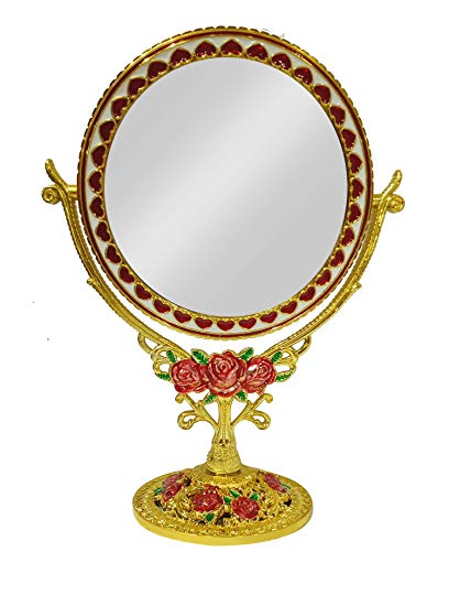 408x550 Buy Kabello Double Sided Makeup Mirror For Bathroom, Drawing Room