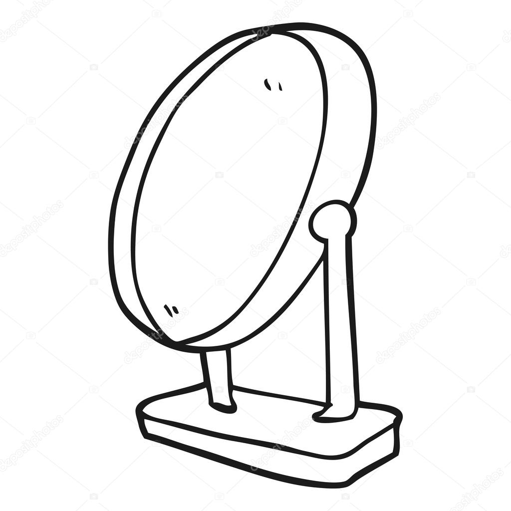 1024x1024 Mirror Drawing Black And White For Free Download