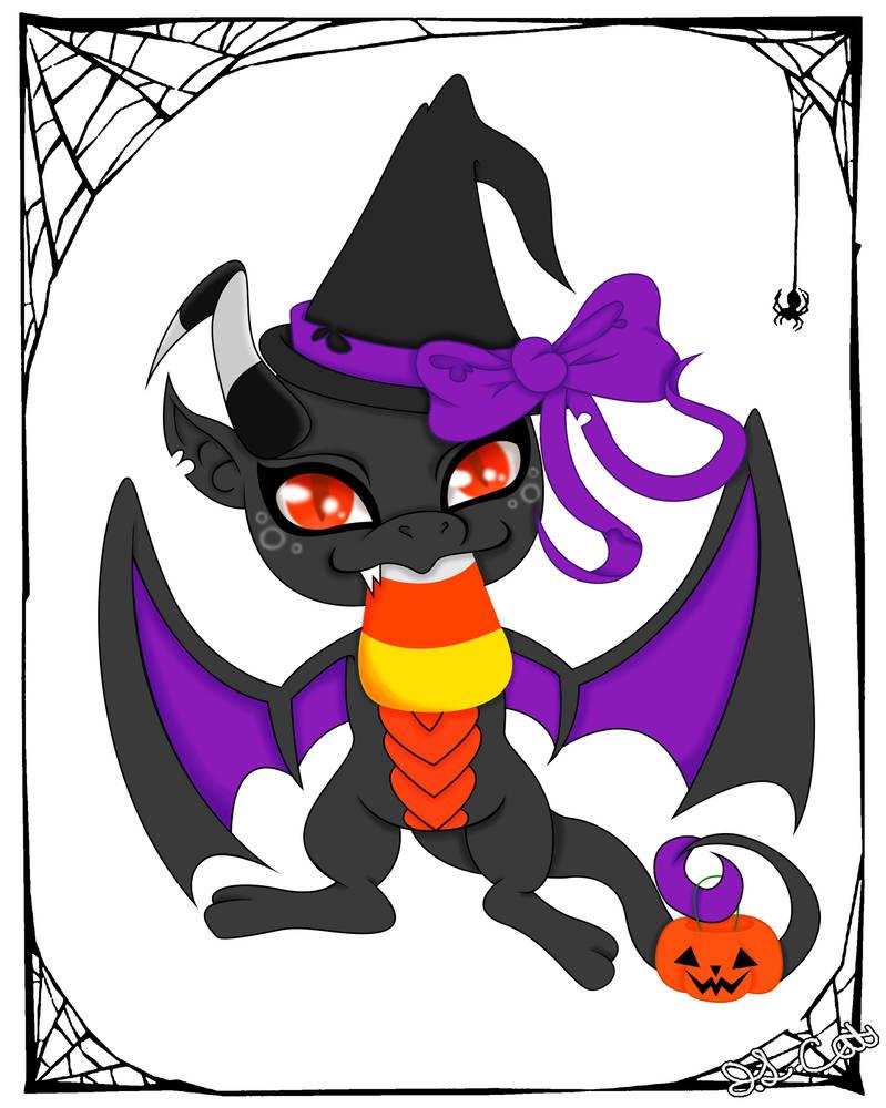 799x1000 Halloween Wyvern