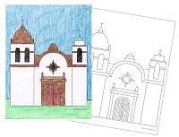 200x153 california mission drawing guide riley california missions