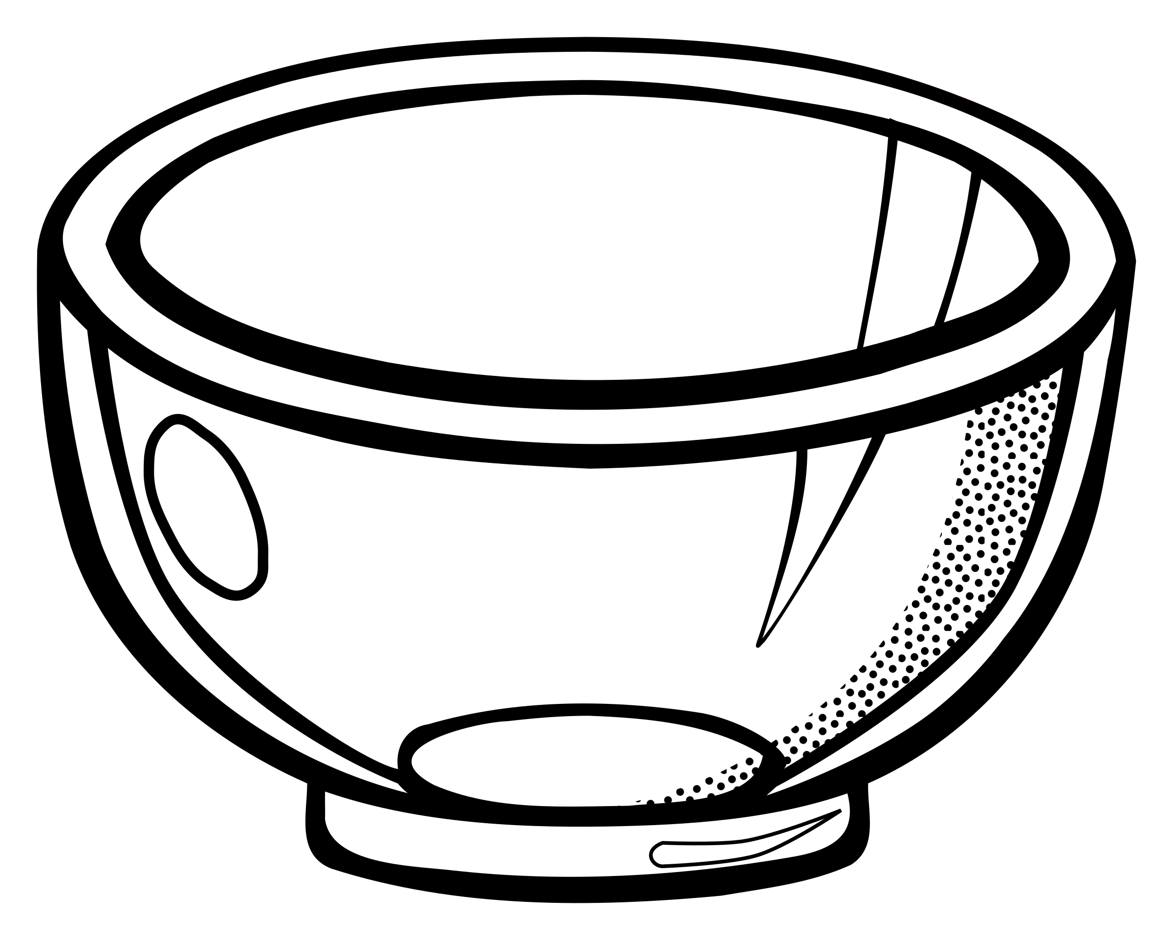 Mixing Bowl Drawing | Free download on ClipArtMag