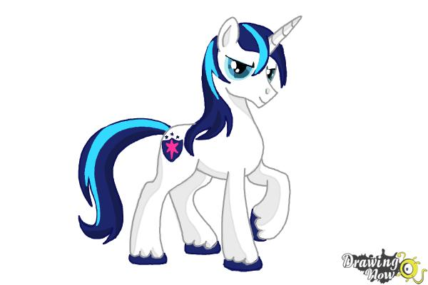 600x400 How To Draw Shining Armor From My Little Pony Friendship Is Magic
