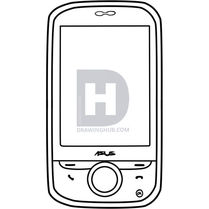 720x720 how to draw an android, android phone, step