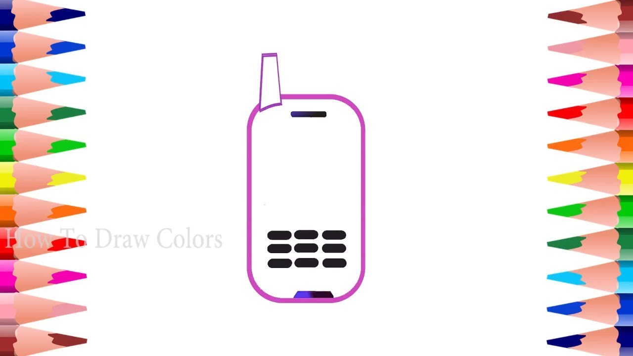 1280x720 baby mobile coloring drawing mobile toy for kids art