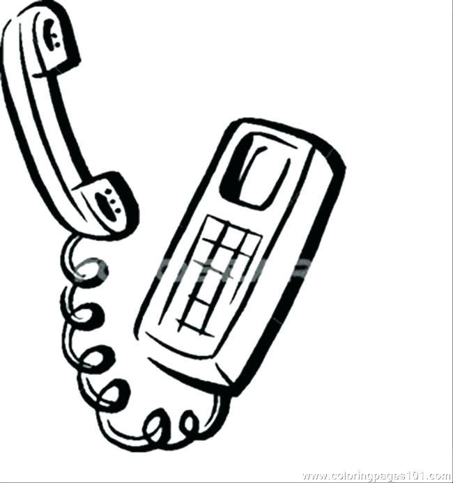 650x693 cell phones drawing at free for personal use cell phone coloring