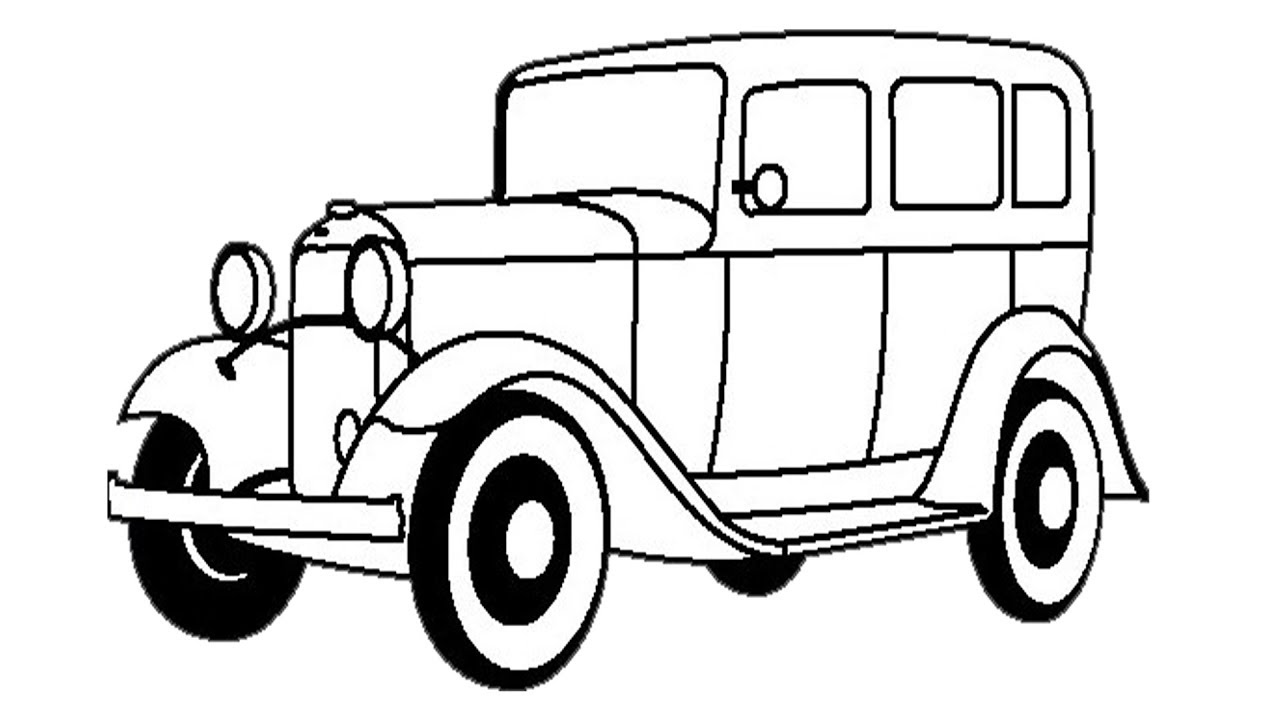 1280x720 model b to draw ford model to draw
