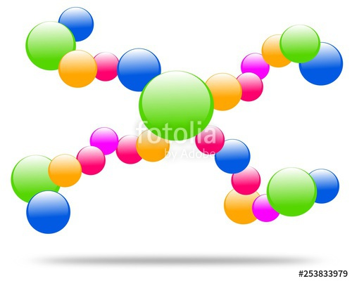 500x400 drawing company logo molecule vector company logo molecule