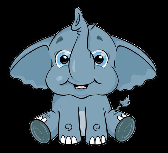 551x500 cute cartoon elephant clip art so cute cartoon elephant, cute