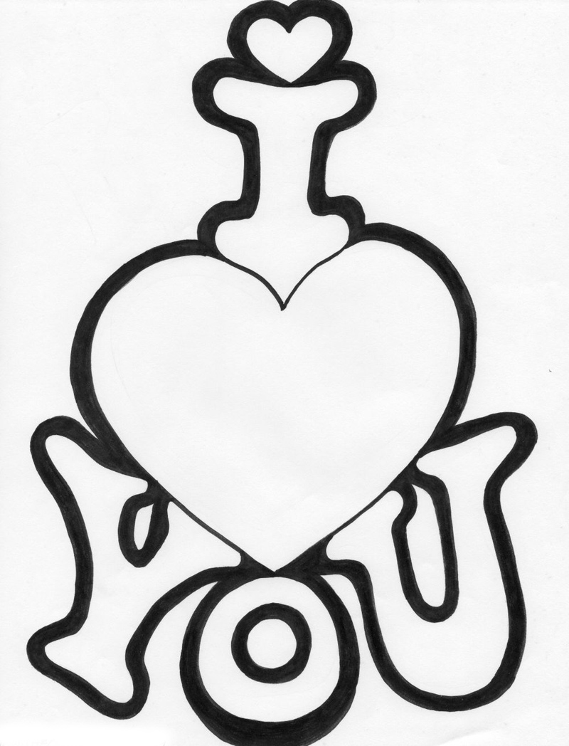 800x1048 Cute Drawings For Mom And Dad