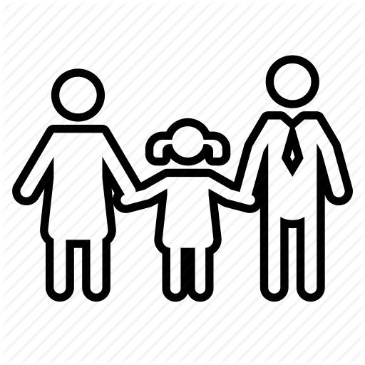 512x512 Dad, Daughter, Family, Father, Mom, Mother, Parent Icon
