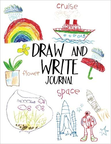 386x499 draw and write journal writing drawing journal for kids