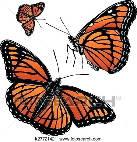 450x467 clipart monarch butterfly monarch butterfly drawing clip art