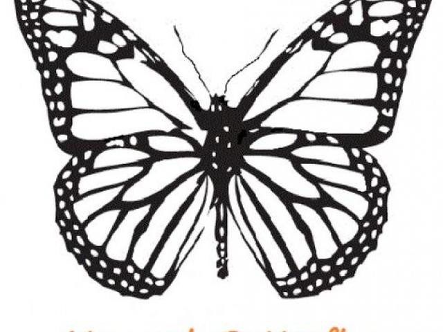 640x480 Monarch Butterfly Clipart