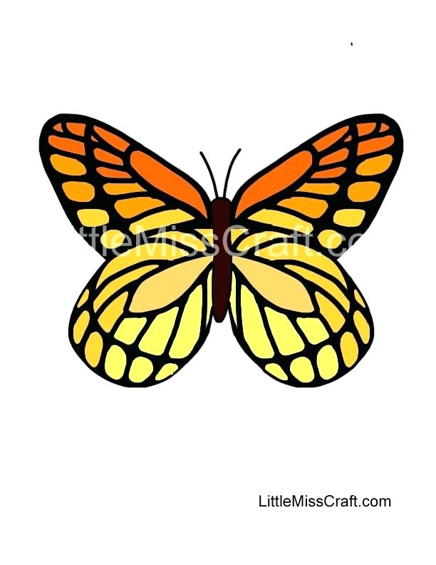 612x792 Monarch Butterfly Coloring Butterfly Coloring Pages Color