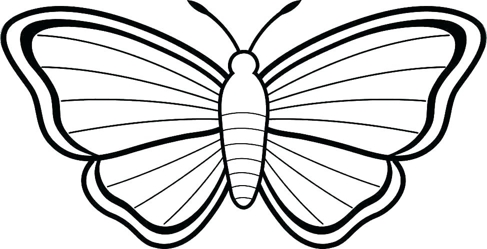 974x499 Monarch Butterfly Coloring Pages Butterfly Printable Coloring
