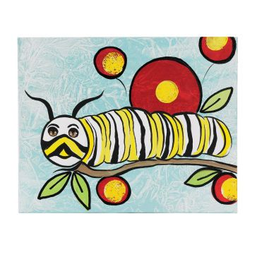 364x364 monarch caterpillar portrait craft draw drawings, monarch